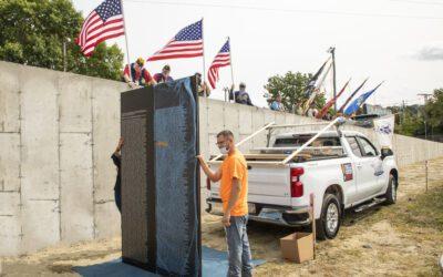 Vietnam Memorial Wall Project, Fall River MA