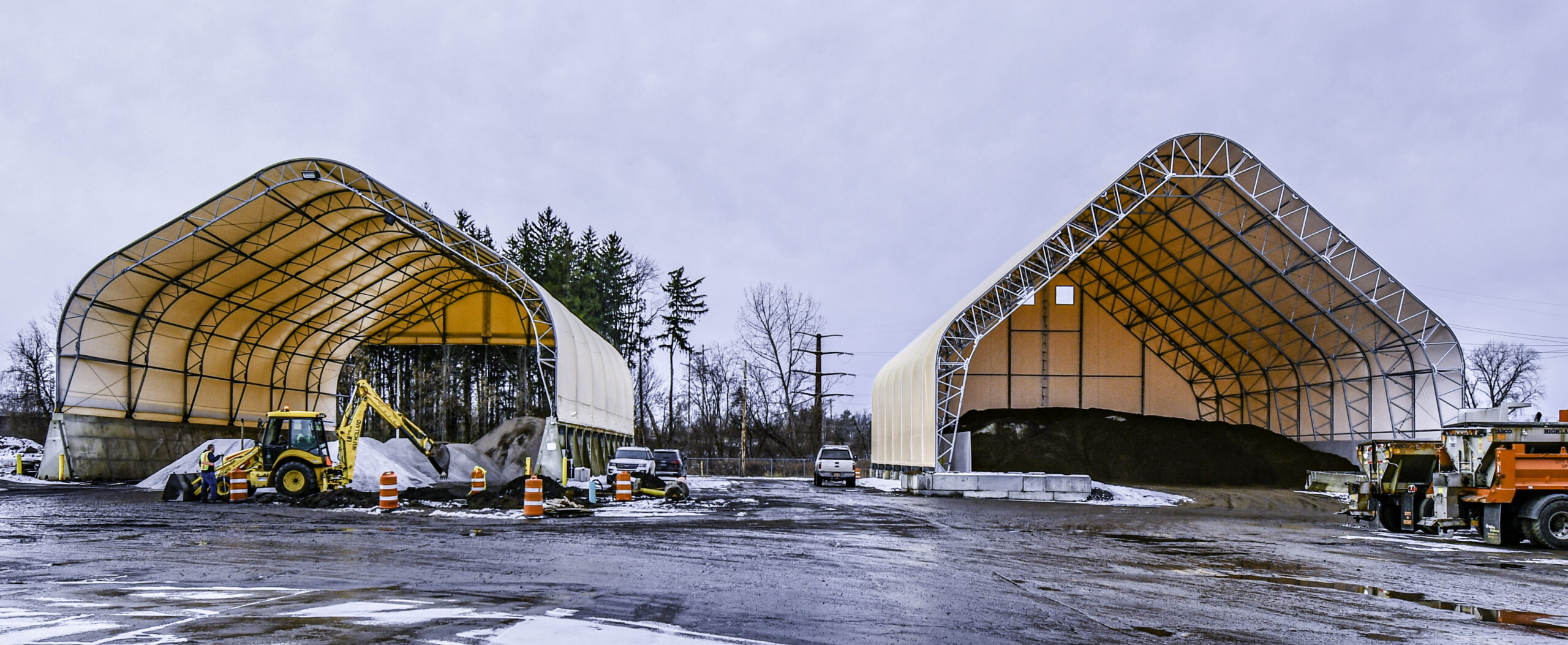 Salt Storage Buildings Massachusetts